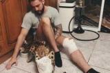 Популярный российский блогер попал в аварию на мотоцикле